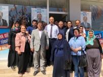 BADEMLI - Milletvekili Adayı Yaşar Atılgan, Basmadık Toprak Sıkmadık El Bırakmıyor