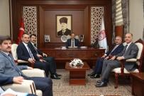 Milli Eğitim Bakanlığı Bürokratları Vali Ali Hamza Pehlivan'ı Ziyaret Etti