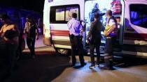 ARAÇ KULLANMAK - Şüpheli Takibi Yapan Polis Aracı Kaza Yaptı