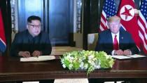 SINGAPUR - Trump-Kim Zirvesi Uzlaşmayla Sona Erdi