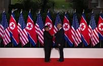 KİM JONG UN - Trump Ve Kim Buluştu