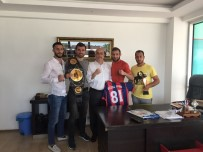 MEHMET YAŞAR - Türkseven'den Sporculara Destek