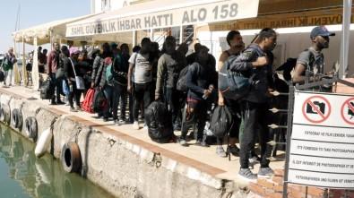 43 kaçak göçmen yakalandı
