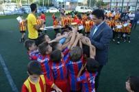HAKAN ŞIMŞEK - Aliağa Göztepe Futbol Okulu'ndan Birinci Yıla Özel Turnuva