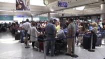 TÜRK HAVA YOLLARı - Atatürk Havalimanı'nda Bayram Yoğunluğu