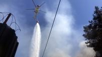 ORMANA - Ayazağa'da Fabrikada Yangını Sürüyor
