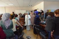 EĞİTİM DERNEĞİ - Bakan Tüfenkci'nin Eşinden Bayram Ziyaretleri