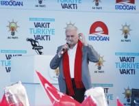 Başbakan Binali Yıldırım, Memleketi Erzincan'da Konuştu