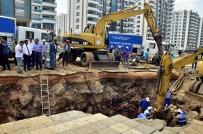 Başkan Atilla İçme Suyu Hattındaki Arızayı İnceledi
