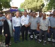 İSMAIL BILEN - Başkan Çerçi Personeliyle Bayramlaştı