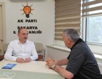 FEVZI KıLıÇ - Başkan Toçoğlu, AK Parti İl Başkanlığı'nı Ziyaret Etti