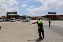 ŞEHİRLERARASI OTOBÜS - Bayram Seferine Çıkan Otobüs Şoförlerine Polis Tembihi