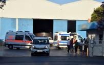İŞ KAZASI - Demir-Çelik Kalıplarının Altında Kalan İşçi Hayatını Kaybetti