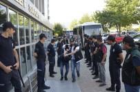 SİLAH TİCARETİ - Denizli'de Şafak Operasyonunda Gözaltına Alınan 11 Kişi Adli Adliyeye Sevk Edildi