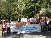ULUSLARARASI ÇALIŞMA ÖRGÜTÜ - Dünya Çocuk İşçiliğiyle Mücadele Gününde Broşürler Dağıtıldı