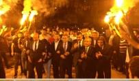 HAVAİ FİŞEK - Fendoğlu'nun Seçim Ziyaretleri Sürüyor