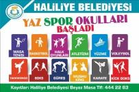 VESİKALIK FOTOĞRAF - Haliliye'de Yaz Spor Okulları Başlıyor