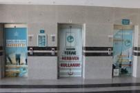 Hastane Asansörleri 'Sağlığın İçin Hareket Et' Yazı Ve Resimleriyle Giydirildi