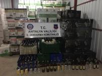 EVRENSEKI - Manavgat'ta Kaçak İçki Operasyonu