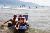 ENGELLİ VATANDAŞ - Muğlalı Engelli Vatandaş, 42 Yıl Sonra Deniz Gördü