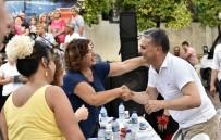 İFTAR SOFRASI - Muratpaşa İftar Sofrası Kaleiçi'nde Kuruldu