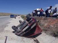 Otomobil Şarampole Devrildi Açıklaması 6 Yaralı