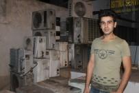 BEYAZ EŞYA - Silopi'de Yangın İş Yerini Küle Çevirdi