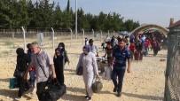 SINIR KAPISI - Sınırda Suriyelilerin Son Gün Yoğunluğu