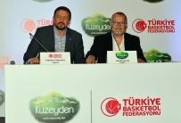 TÜRKIYE BASKETBOL FEDERASYONU - TBF, Kuzeyden İle Sponsorluk Anlaşması İmzaladı