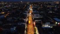 NURULLAH CAHAN - Uşak'ta 30 Bin Kişi Birlikte İftar Yaptı