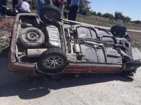 Yozgat'ta Otomobil Şarampole Devrildi Açıklaması 6 Yaralı