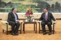 KİM JONG UN - ABD Dışişleri Bakanı Pompeo, Çin Devlet Başkanı Xi İle Görüştü