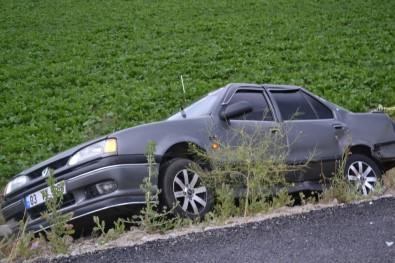 Afyonkarahisar'da Trafik Kazası Açıklaması 1 Ölü, 1 Yaralı