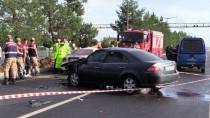 Aracıyla Ters Yöne Giren Sürücü Kazada Yaşamını Yitirdi