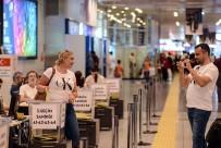 AREFE GÜNÜ - Atatürk Havalimanı'nda Oy Kullanma İşlemi Devam Ediyor