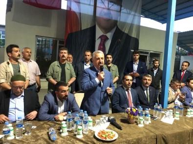 Bakan Arslan Kağızman'da 5 Bin Kişiyle İftar Açtı