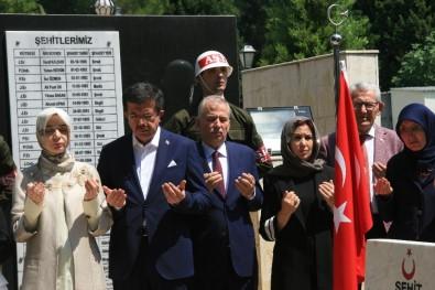 Bakan Zeybekci Şehitliği Ziyaret Etti