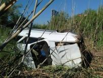 Balıkesir'de Trafik Kazası Açıklaması 2 Yaralı
