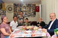 SAHUR - Başkan Kafaoğlu'ndan Otizmli Arda'ya Sahur Ziyareti