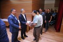 PROMOSYON - Başkan Tahmazoğlu, Personelleriyle Bayramlaştı