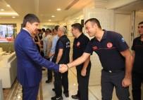 İBRAHİM KURT - Başkan Türel, Belediye Çalışanlarıyla Bayramlaştı
