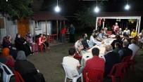 RECEP ŞAHIN - Başkan Üzülmez, Şahin Ailesine Misafir Oldu