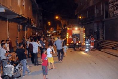 Cizre'de İş Yerinde Korkutan Yangın