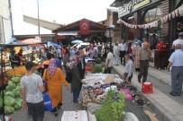 KAPALI ÇARŞI - Elazığ'da Bayram Yoğunluğu