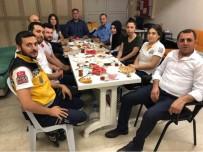 11 AYıN SULTANı - Ensarioğlu, Sahuru ASHİ Çalışanları İle Yaptı