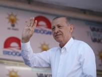 ADALET YÜRÜYÜŞÜ - Erdoğan'dan Cumhurbaşkanlığı Adaylığı İçin Yasal Değişiklik Mesajı