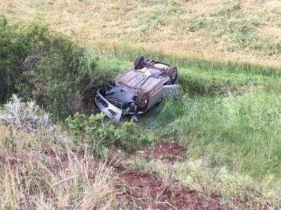 Giresun'da Trafik Kazasında Aynı Aileden 3 Kişi Yaralandı
