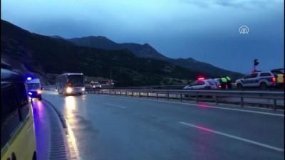 GÜNCELLEME - Burdur'da Trafik Kazası Açıklaması 1 Ölü, 5 Yaralı