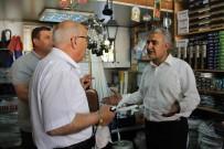 HASAN ANGı - Hasan Angı Ve Abdullah Ağralı'dan Esnaf Ziyaretleri