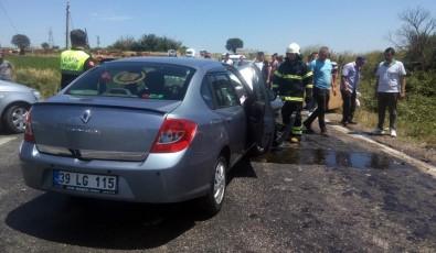 Hayrabolu'da Trafik Kazası Açıklaması 5 Yaralı